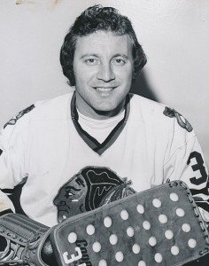 Tony Esposito, Hockey Hall of Fame, 1988. A retired Canadian-American professional goalie and one of the pioneers of the butterfly style.