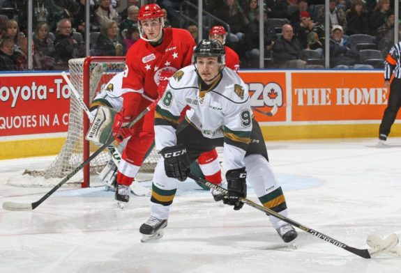Victor Mete of the London Knights