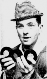 Dick Duff with the Saturday hattie.