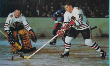 50 Years Ago in Hockey: Black Hawks Alone in First