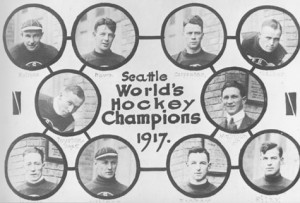 1917 Seattle Metropolitans, first American Stanley Cup Champions.