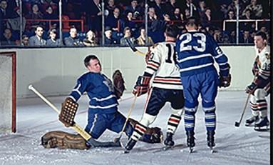 50 Years Ago in Hockey: Rookie Goalie Stymies Hawks