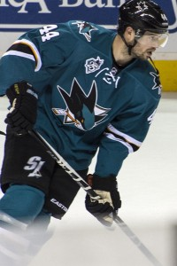 Marc-Edouard Vlasic Sharks (Photo credit Zeke/THW)