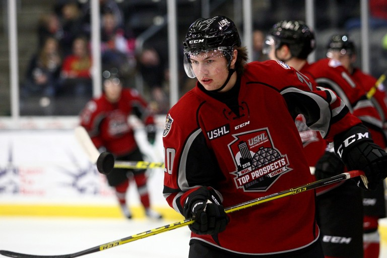 Andrew Peeke of the Green Bay Gamblers