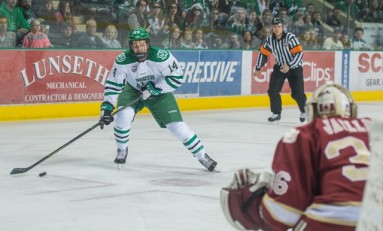 Austin Poganski, Making an Impact at UND