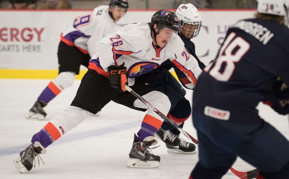 Cam Morrison of the Youngstown Phantoms