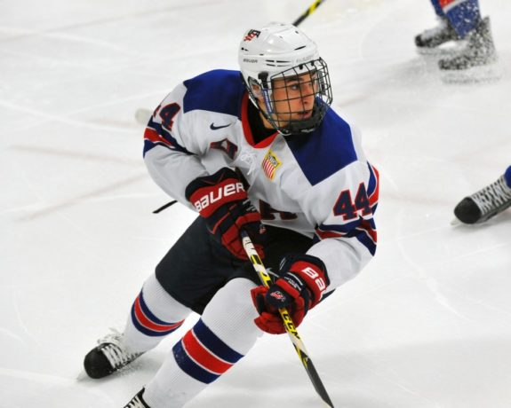 Chad Krys, U.S. National Development Team, NHL Draft, Entry Draft, Prospect