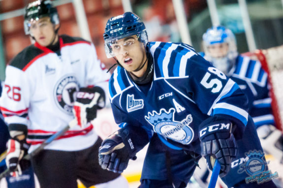 Frederic Allard of the Chicoutimi Sagueneens