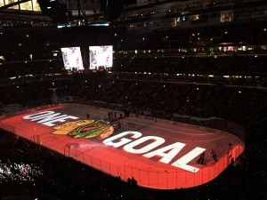 The Stanley Cup Playoffs Means its Hawkeytown Time in Chicago (Rick Rischall The Hockey Writers)