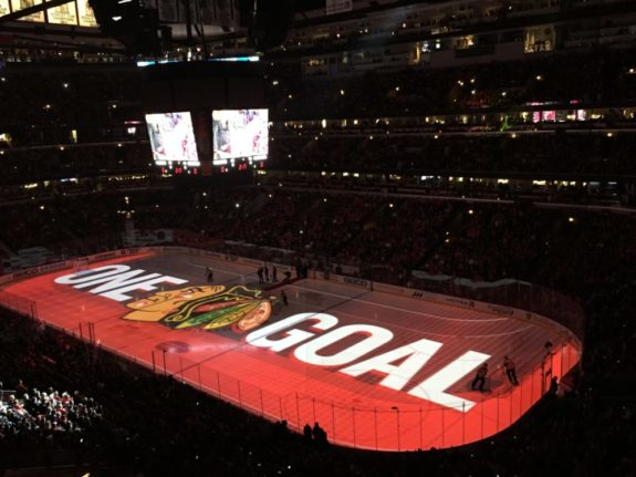 (Rick Rischall/The Hockey Writers) The Chicago Blackhawks will be refreshed from their first-round playoff exit and could be the team to beat in the Central Division.