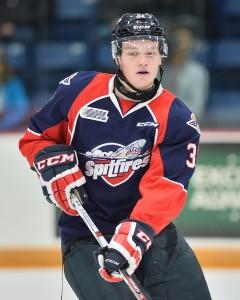 Montreal Canadiens defenseman Mikhail Sergachev