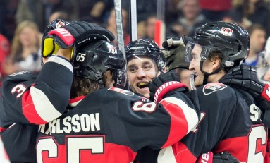 Recap: Senators Defeat Ducks in Overtime, 2-1