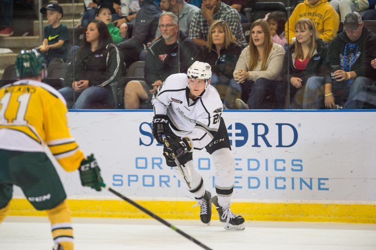 Riley Tufte of the Fargo Force