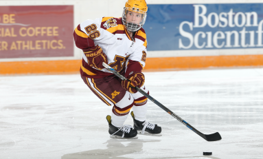 Gophers Find Positives in Sweep of Duluth, Despite Slow Starts