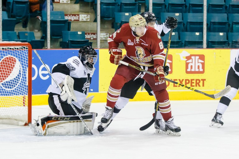 Vladimir Kuznetsov of the Acadie-Bathurst Titan.