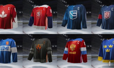 2016 World Cup of Hockey Jerseys Released