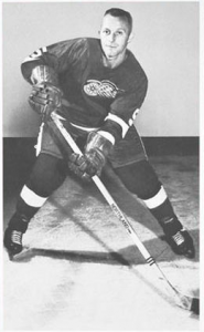 Bob Wall scored his first NHL goal.