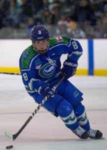 Kelly Babstock will return for the 2016-17 season. (photo credit: NWHL)