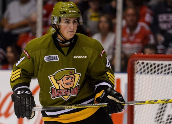 Cam Dineen, North Bay Battalion, OHL