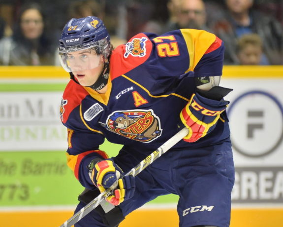 Jake Marchment, OHL, Erie Otters