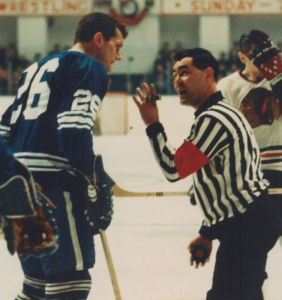 Referee Bill Friday