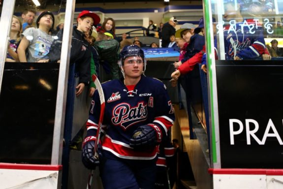 Adam Brooks of the Regina Pats