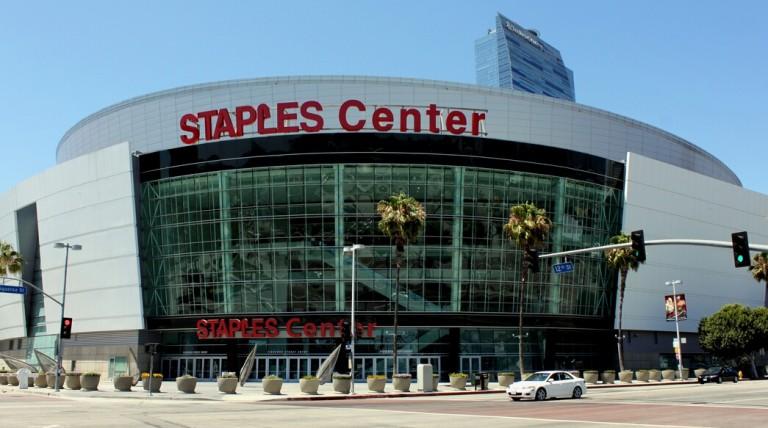 Staples Center, Los Angeles Kings, NHL 100