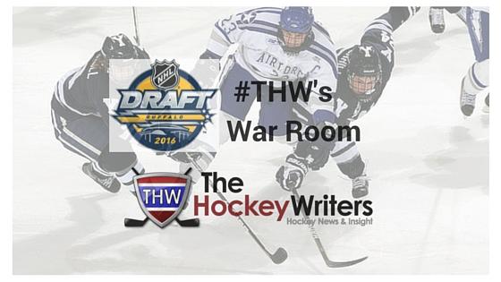 THW NHL Draft War Room graphic