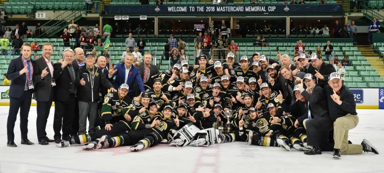 OHL, London Knights, Memorial Cup
