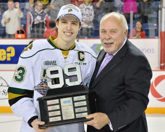 Mitch Marner, David Branch, OHL, J. Ross Robertson Cup, London Knights