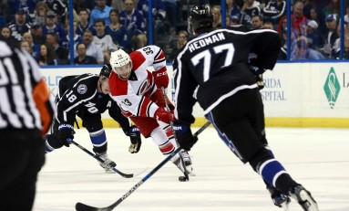 Hurricanes Derek Ryan Looking at Swiss League Jump