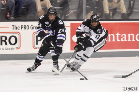 Erik Foley with Providence College