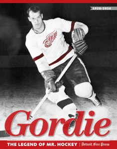 Gordie Howe dominated the NHL for the Detroit Red Wings.