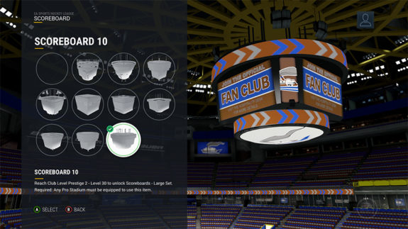 NHL 17 Arena Customization