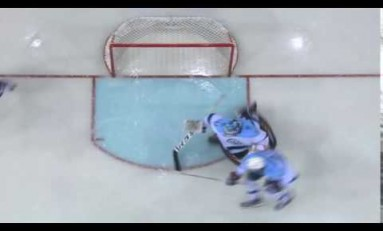 VIDEO: KHL Rookie Goalie Incredible Save