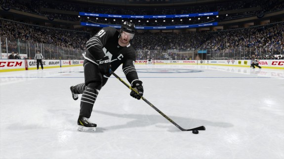 "John Tavares is one of the few improved players on the Isles in ""NHL 17"" (EA Sports)"
