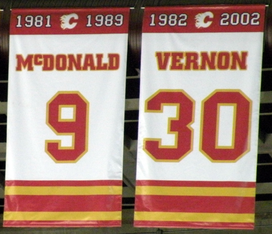Mike Vernon Calgary Flames 1981 Draft Best Worst Drafts Number Retired 2007