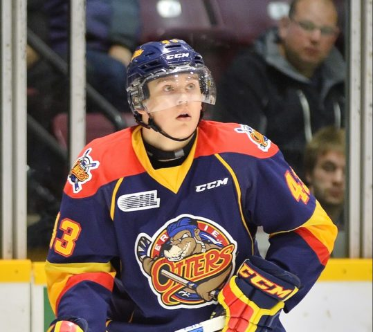 Ivan Lodnia, OHL, Erie Otters