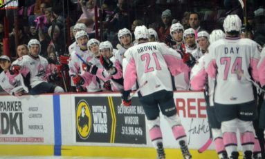 OHL Goes Pink in the Rinks