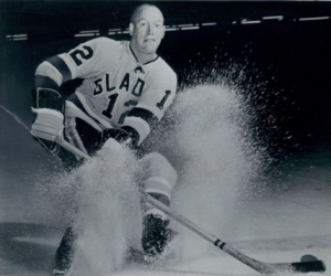 New Los Angeles Blades captain Norm Johnson