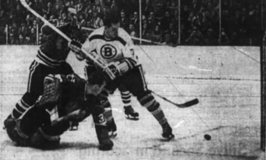 50 Years Ago in Hockey: Bruins Hand Hawks First Loss
