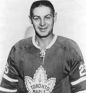 Terry Sawchuk was brilliant for Toronto last night.