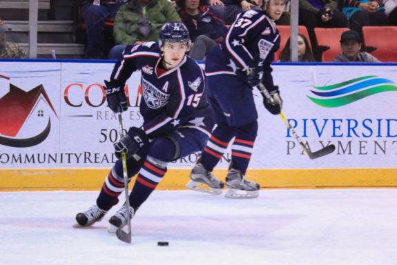 Michael Rasmussen, WHL, Tri-City Americans, NHL