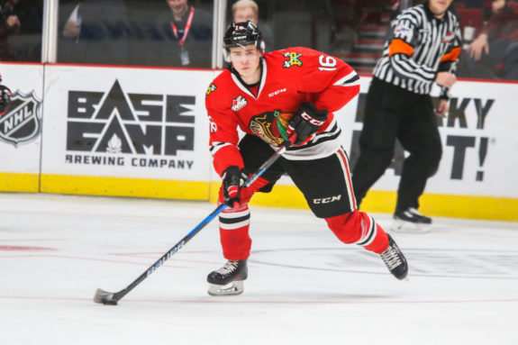 Henri Jokiharju Chicago Blackhawks