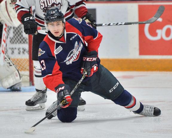 Gabe Vilardi, Windsor Spitfires, OHL, NHL Draft
