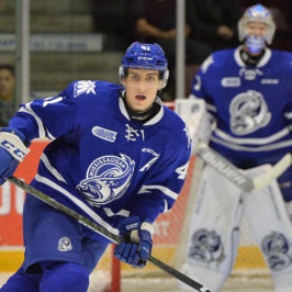 Nicolas Hague, Mississauga Steelheads, OHL, 2017 NHL Draft
