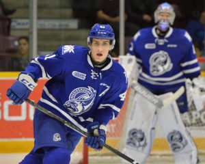 Nicolas Hague, Mississauga Steelheads, OHL, 2017 NHL Draft