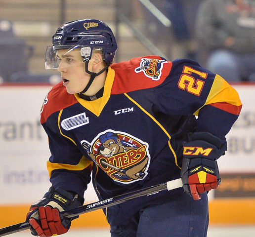 Ivan Lodnia, Erie Otters, OHL, 2017 NHL Draft