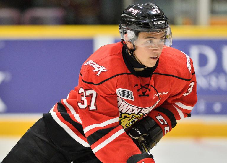 Nick Suzuki, Owen Sound Attack, OHL, 2017 NHL Draft