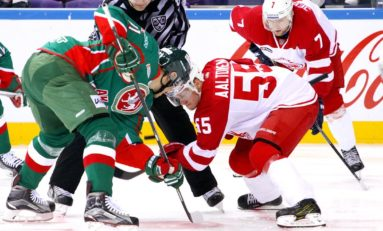New Leafs' Forward Miro Aaltonen